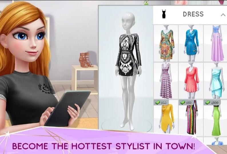 a54a0ae98b Super Stylist - Dress Up & Style Fashion Guru Free Android Game ...