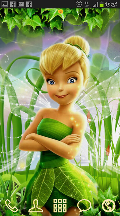 theme wallpaper tinker bell - photo #19