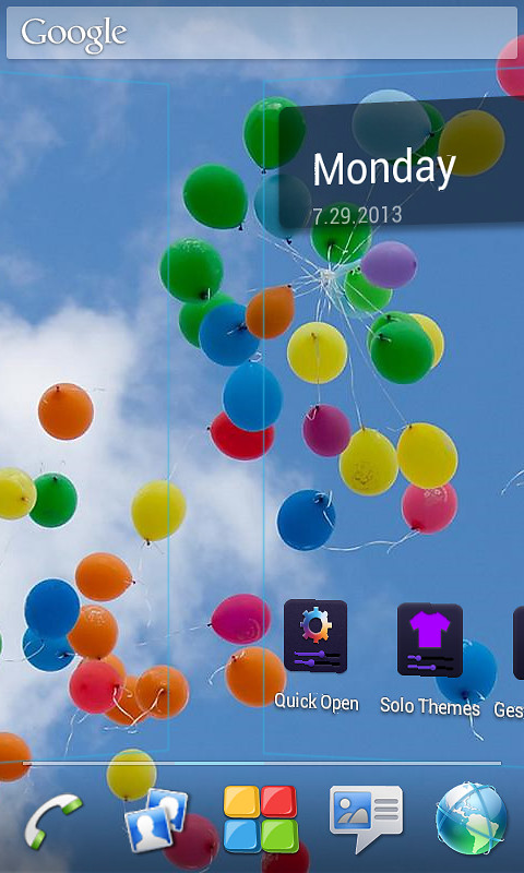 Micromax Canvas Theme