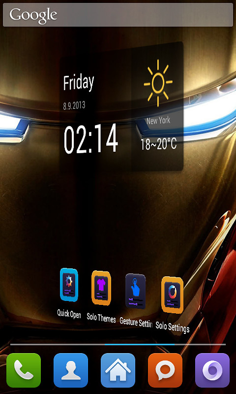 Iron Man 3 Theme Free Android Theme download - Download the