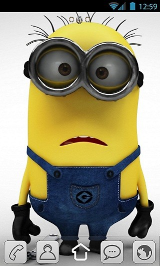 Minions Free Android Theme download  Download the Free Minions
