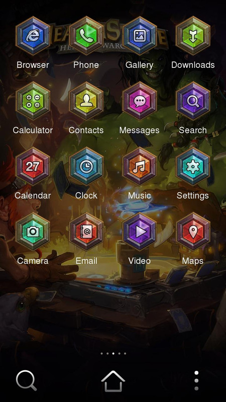 Hearthstone Theme Free Android Theme download - Download the