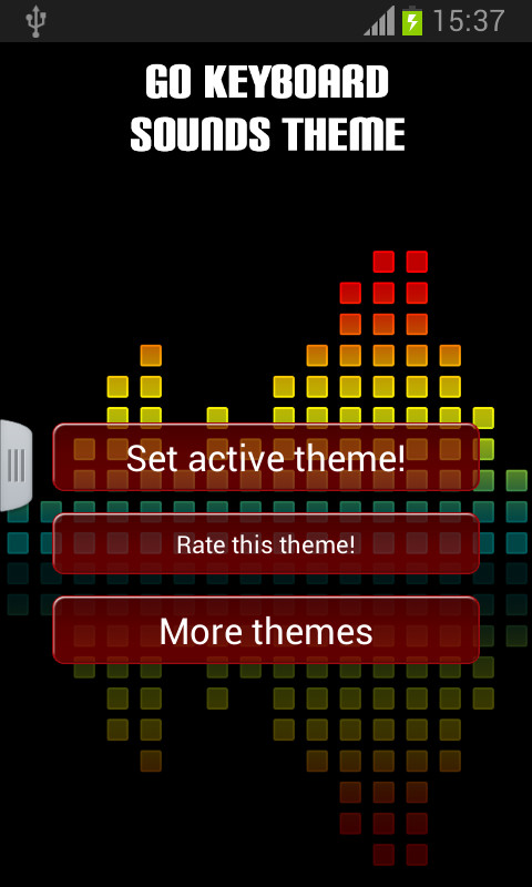 GO Keyboard Sounds Theme Free Android Theme download - Download the