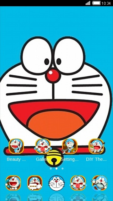DORAEMON Free Android Theme download - Download the Free