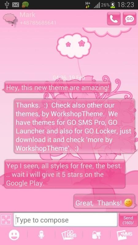 Download GO SMS Pro Messenger Free Themes Emoji .APK APK Download