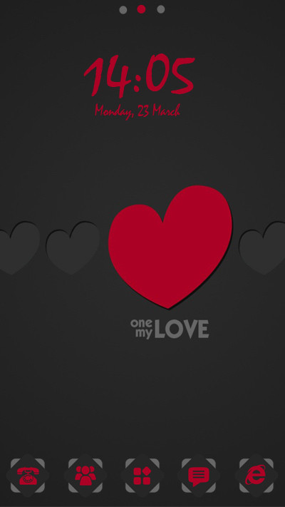 My Love Free Android Theme download - Download the Free My
