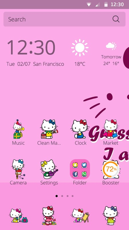 Hello Kitty Theme Free Android Theme Download Download The Free Hello Kitty Theme Theme To Your Android Phone Or Tablet
