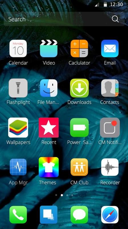 IOS Theme Free Android Theme download - Download the Free IOS Theme