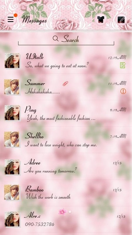 go sms pro themes free download