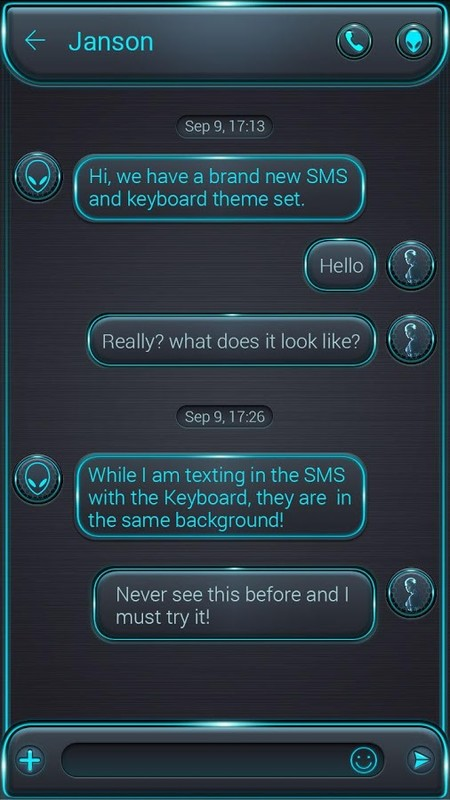FREE) GO SMS PRO GLOW THEME Free Android Theme download - Download