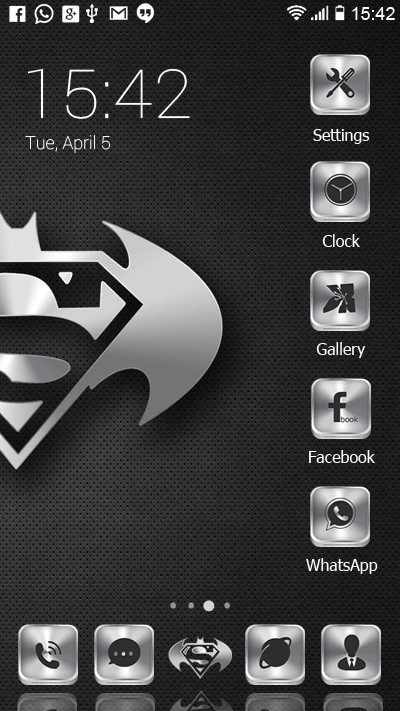 Batman vs Superman Free Android Theme download - Download
