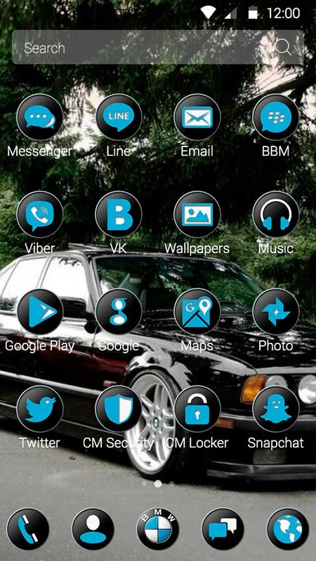 BMW Theme Free Android Theme download - Download the Free