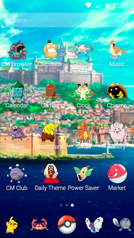 Pokemon GO Free Android Theme download - Download the Free
