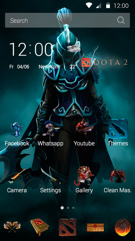DOTA Free Android Theme download - Download the Free DOTA