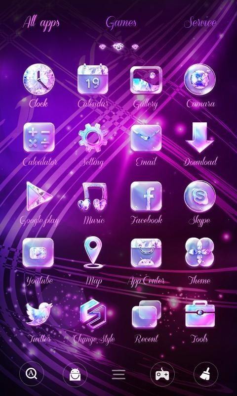Twinkle GO Launcher Theme Free Android Theme download