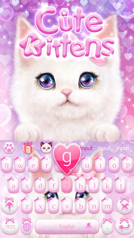 Cute cat keyboard theme free android theme download download the cute cat keyboard theme cute cat keyboard theme voltagebd Images