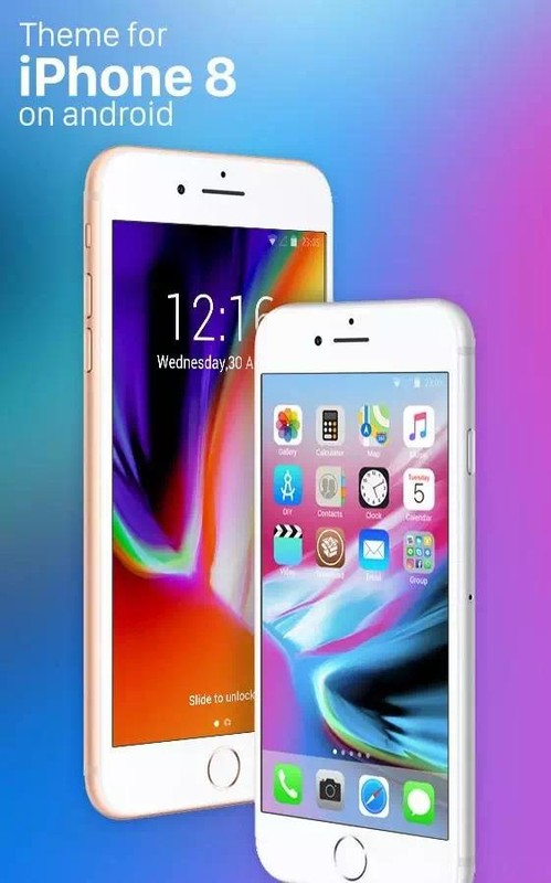 Theme for New iPhone 8: stylish ios 10 Wallpapers Free Android Theme