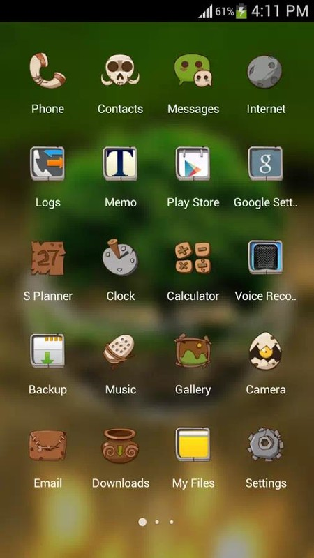 Green nature hd theme comic android themes free free android theme green nature hd theme comic android themes free voltagebd Images