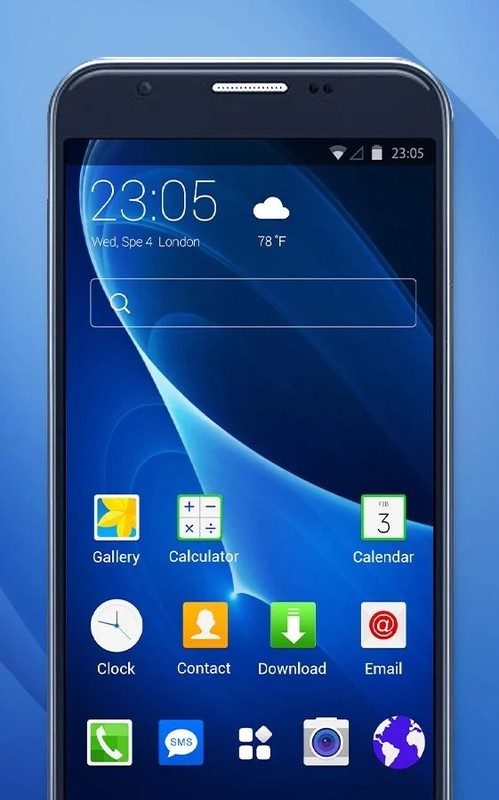 Samsung J7 Prime Theme & Wallpaper Skin Free Android Theme