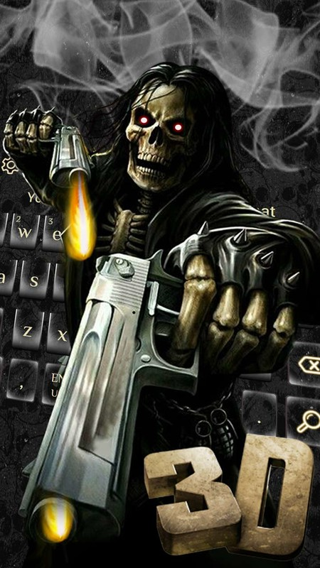 skull keyboard free download