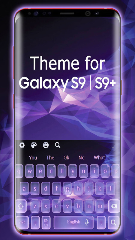 Galaxy S9 | S9+ keyboard theme Free Android Theme download