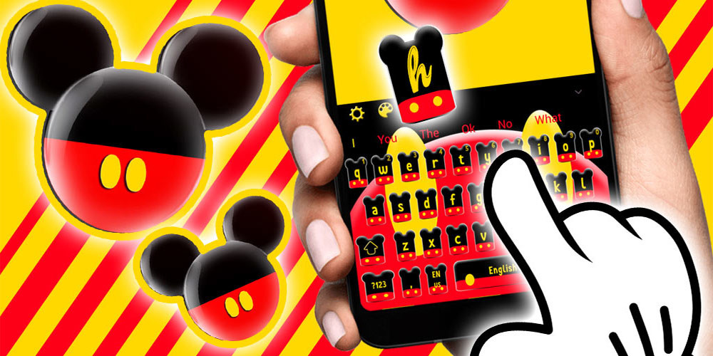 Twinkle cute micky bow keyboard theme free android theme download twinkle cute micky bow keyboard theme voltagebd Choice Image