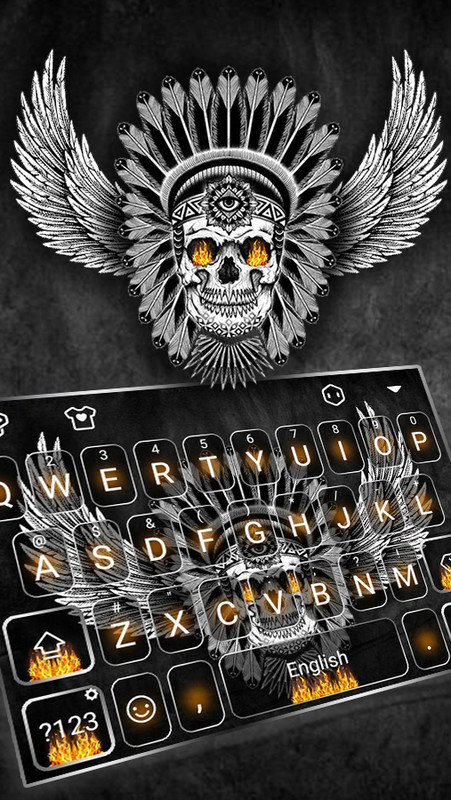 skull keyboard free download