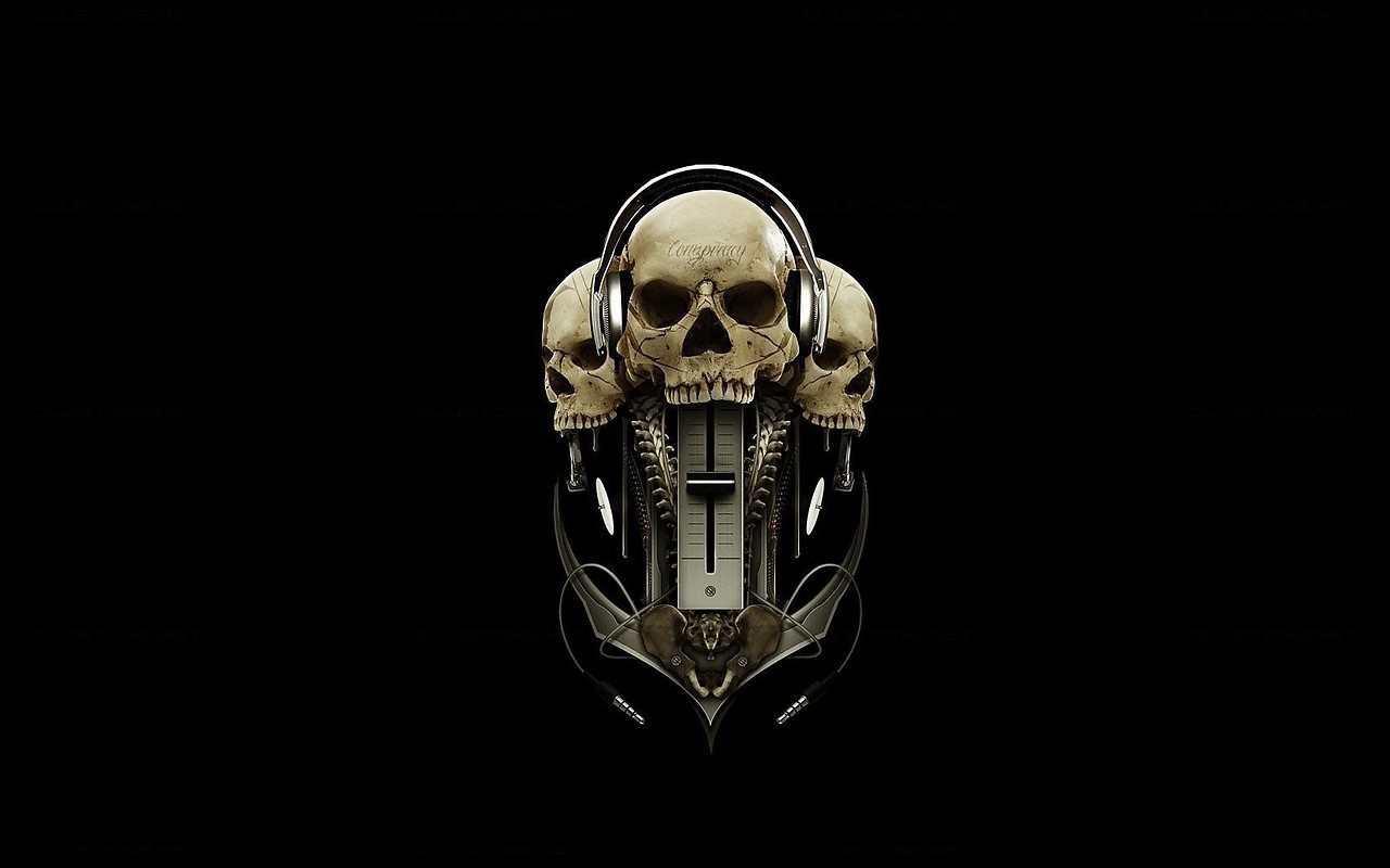 Pics photos wallpapers optical illusion desktop backgrounds optical - Music Skull Free Wallpaper Download Download Free Music