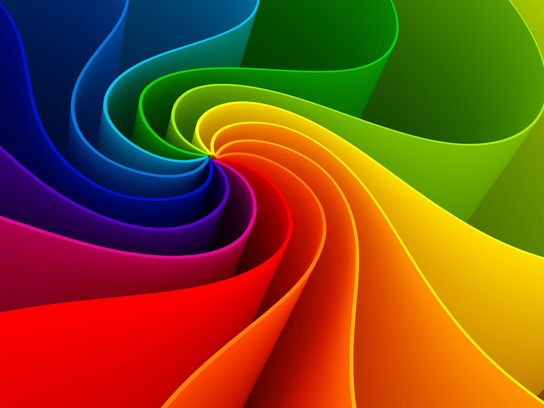 spiral rainbow - photo #35