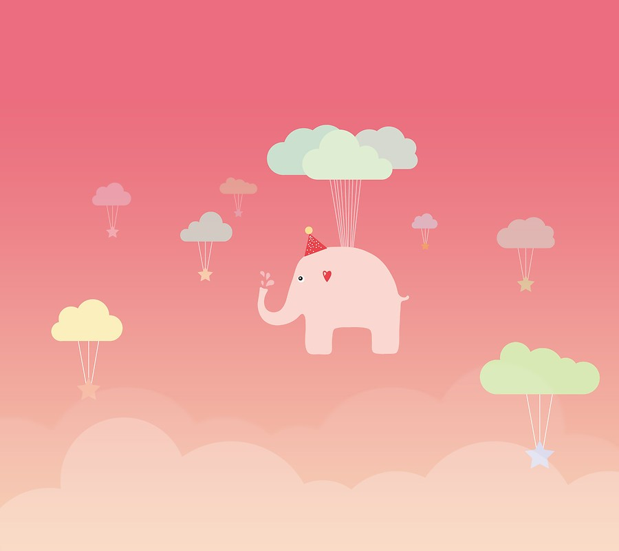 Elephant Pink LG Optimus G2 Stock Wallpaper