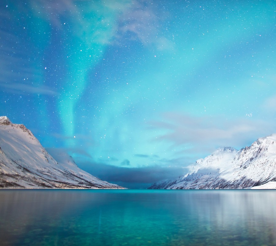 Northern Lights LG Optimus G2 Stock Wallpaper