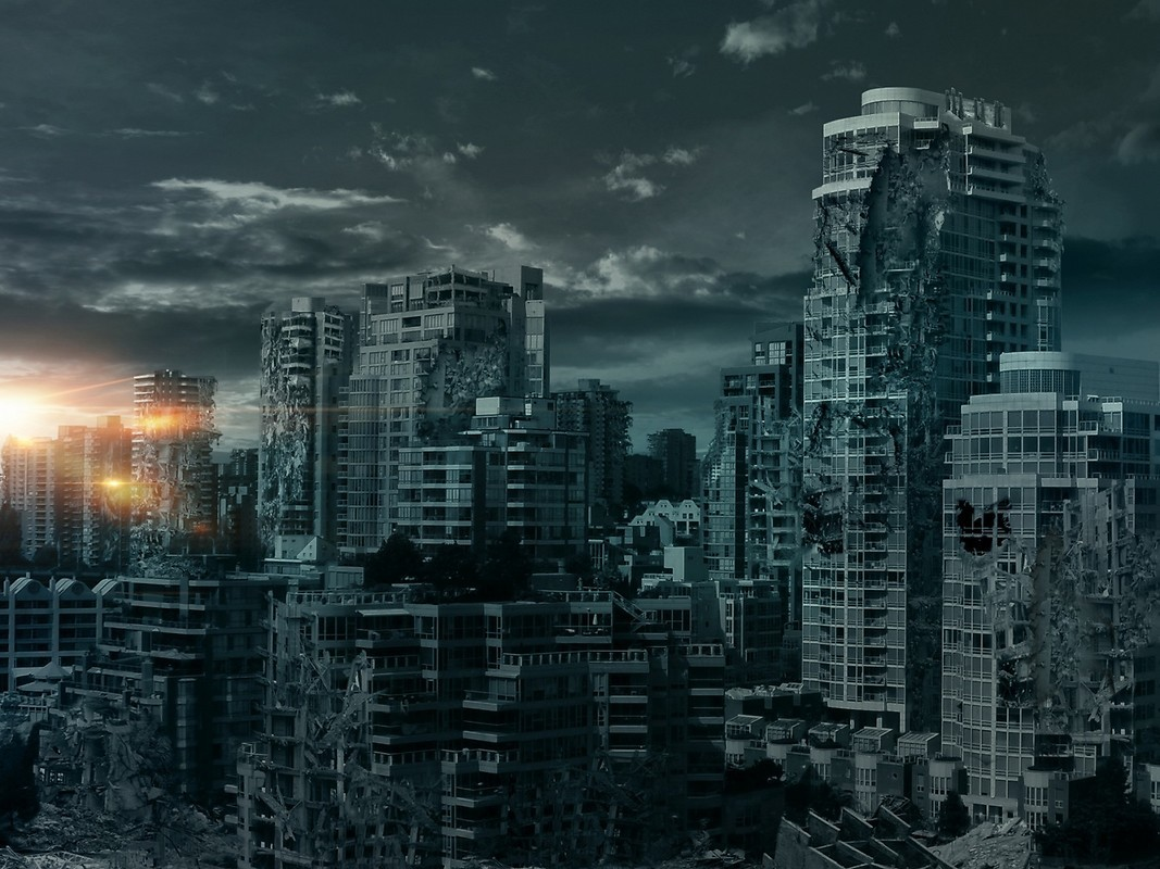 Ruined City Free Wallpaper Download Download Free Ruined