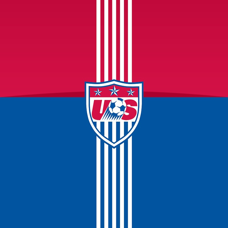 US Soccer Team Badge Apple iPhone 5 Wallpaper