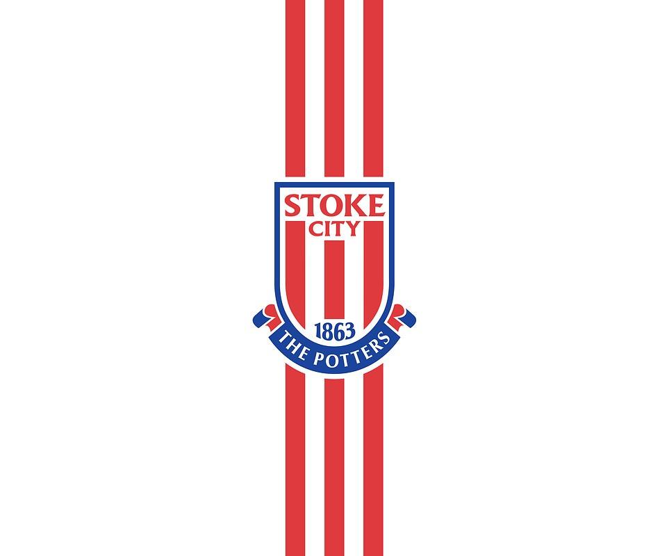 Stoke City FC Stripes Free Wallpaper Download