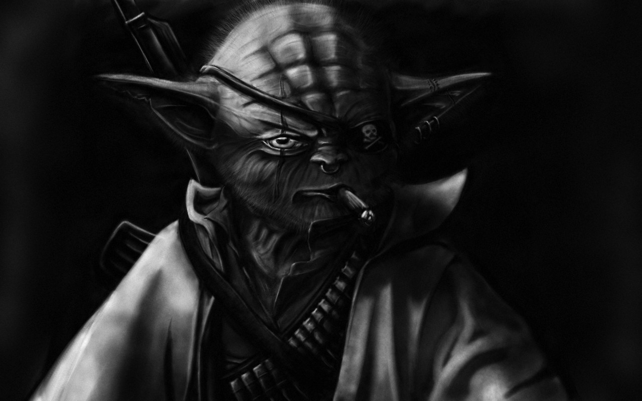 Dark Yoda Free Wallpaper Download Download Free Dark Yoda Hd Wallpapers To Your Mobile Phone Or Tablet