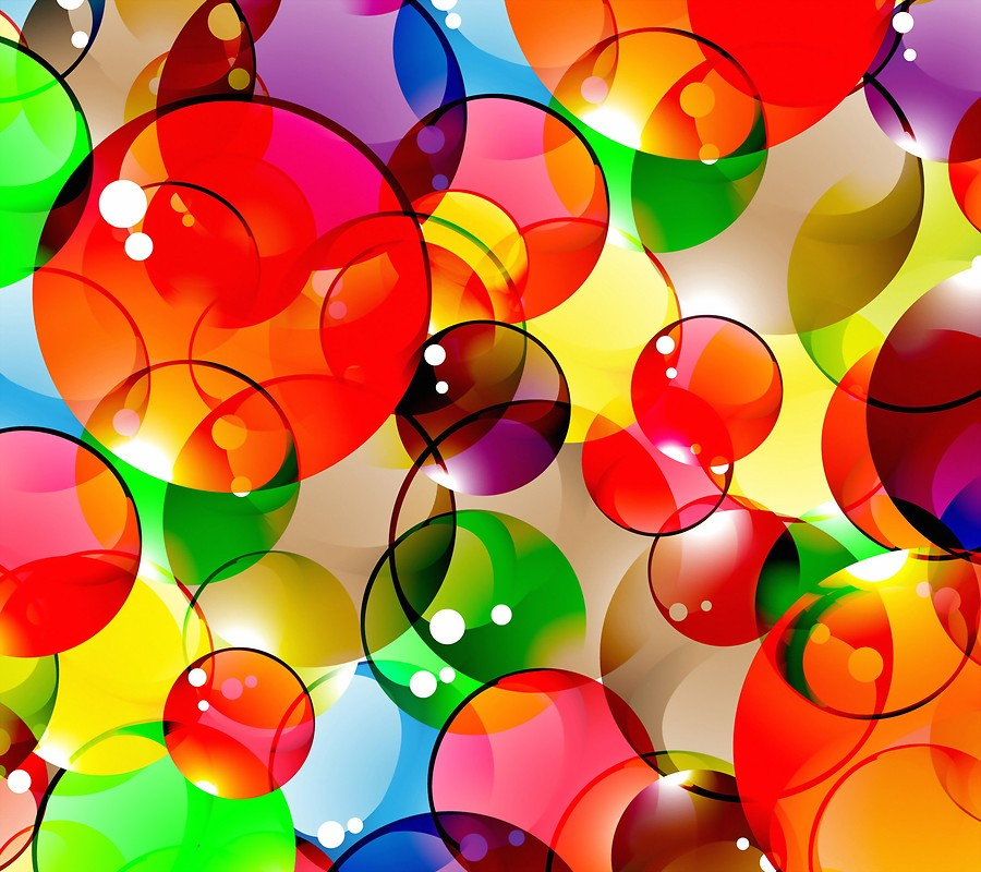 Colorful Bubbles Free Wallpaper Download Download Free Colorful