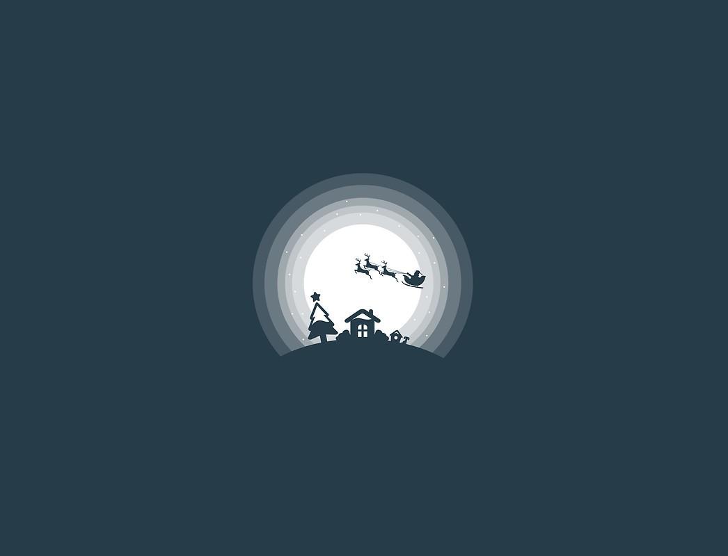 Minimal Santa Claus Free Wallpaper Download Download Free Minimal
