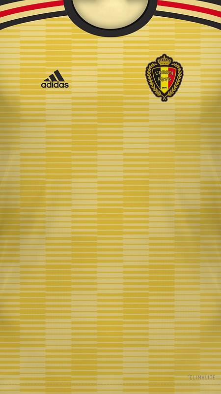 41473e55d Belgium 2018 World Cup Home Jersey Free Wallpaper download ...