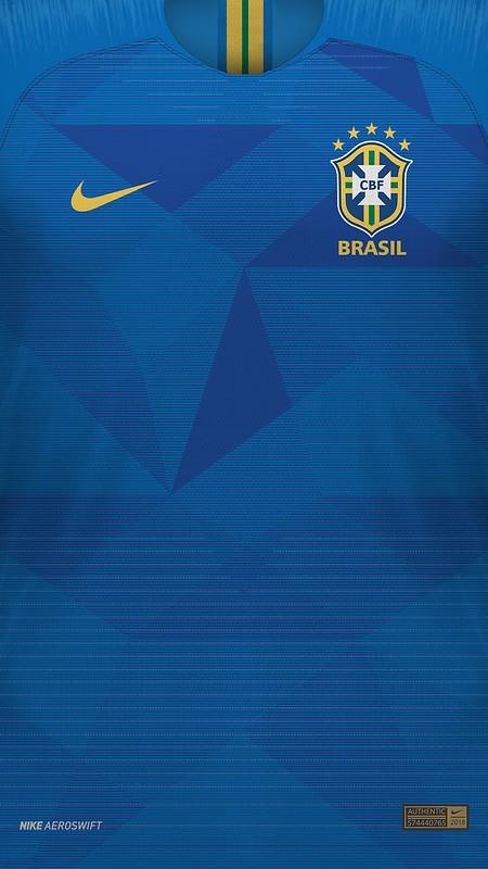 414c369f9 Brasil 2018 World Cup Away Jersey Free Wallpaper download - Download ...