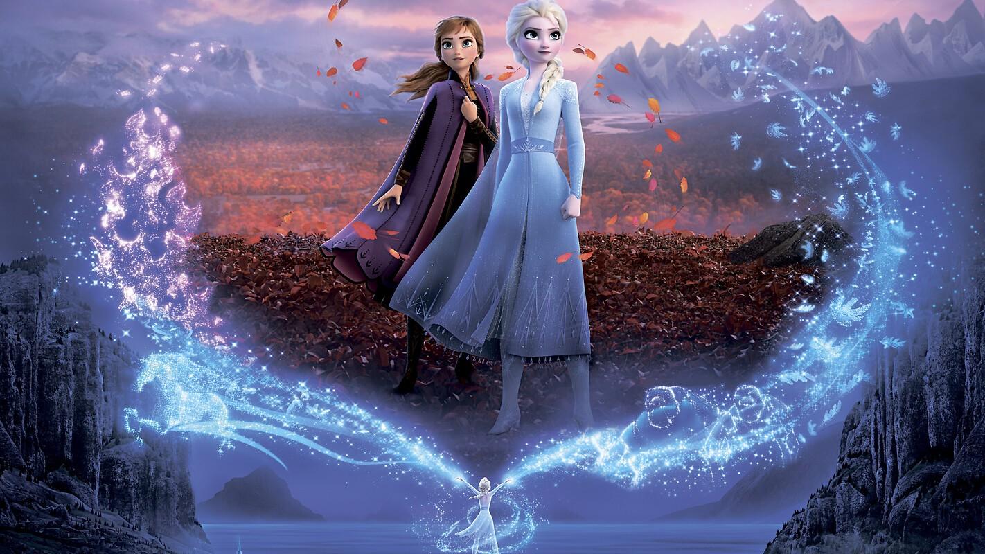 Elsa And Anna Disney Frozen 2 Free Wallpaper Download Download