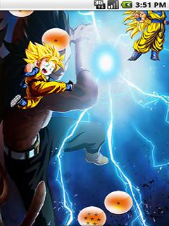 Dragon Ball Goku Vegeta Live Wallpaper