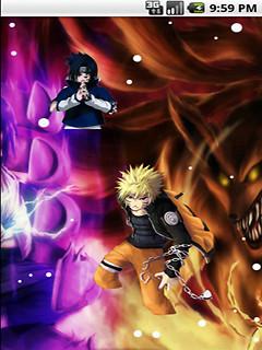 Naruto Versus Sasuke Cool Live Wallpaper Free Android Live Wallpaper