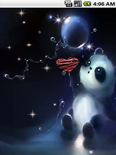 cute panda 2 live wallpaper free android live wallpaper