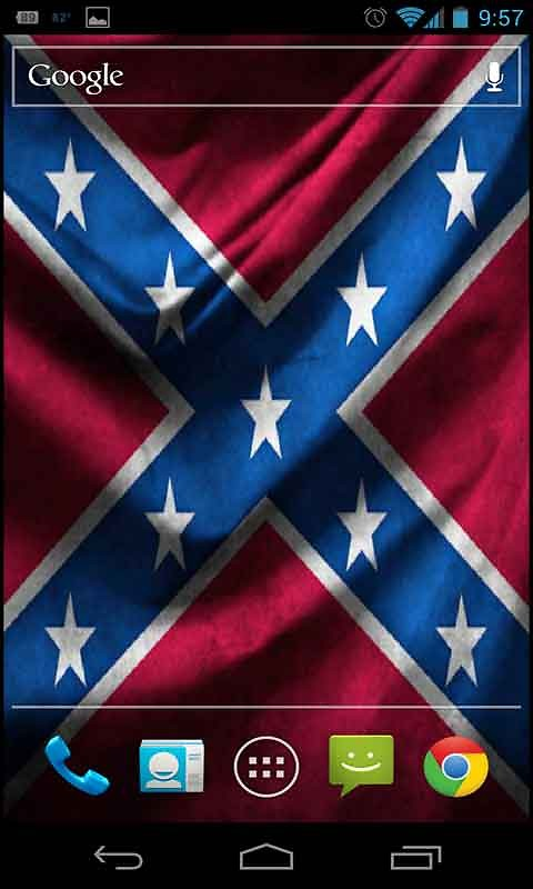 Rebel Flag Live Wallpaper480