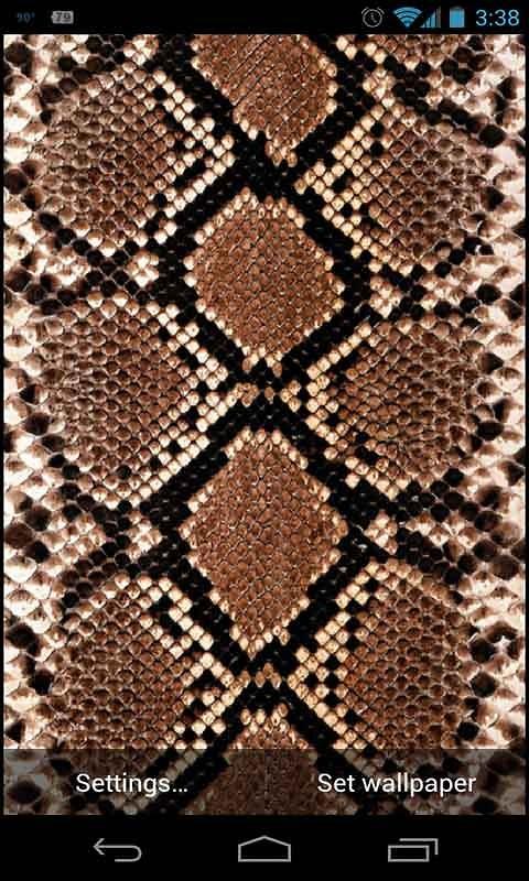 snake skin live wallpaper free android live wallpaper