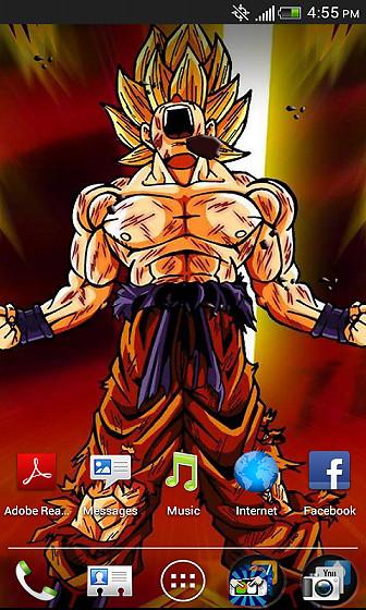 Super Saiyan Goku LiveWallpaper ...