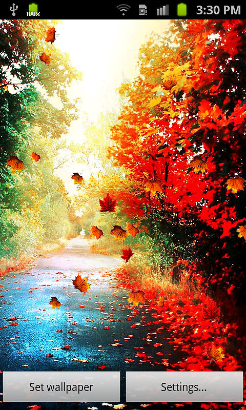 autumn live wallpaper free android live wallpaper download
