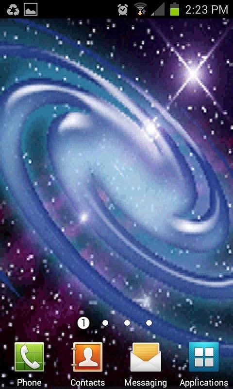 milky way galaxy live wallpaper - photo #42