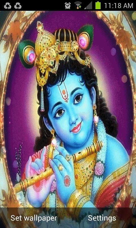 Child Krishna Live Wallpaper Free Android Live Wallpaper