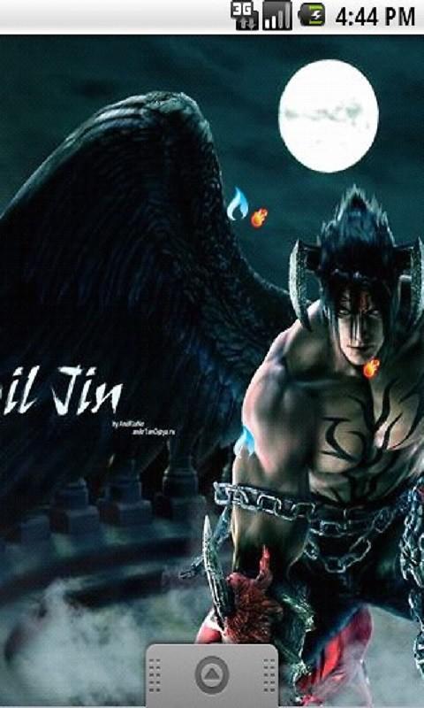 Cool Devil Jin Kazama Live Wallpaper Free Android Live Wallpaper